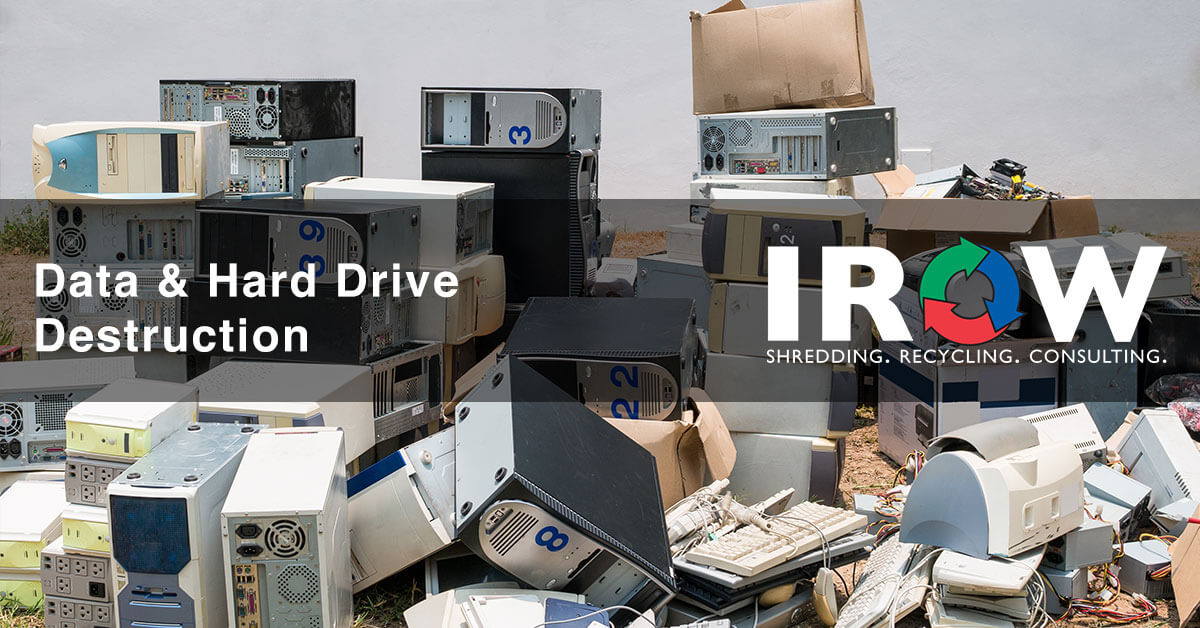 hard drive destruction and disposal in Rosholt, WI