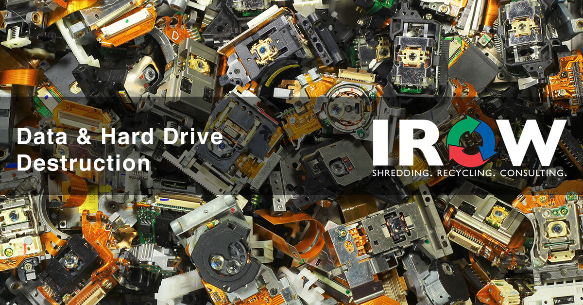 hard drive destruction in Rosholt, WI