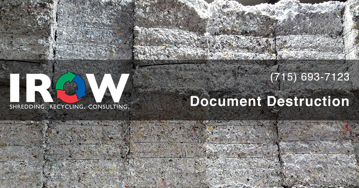 document destruction in Rib Lake, WI