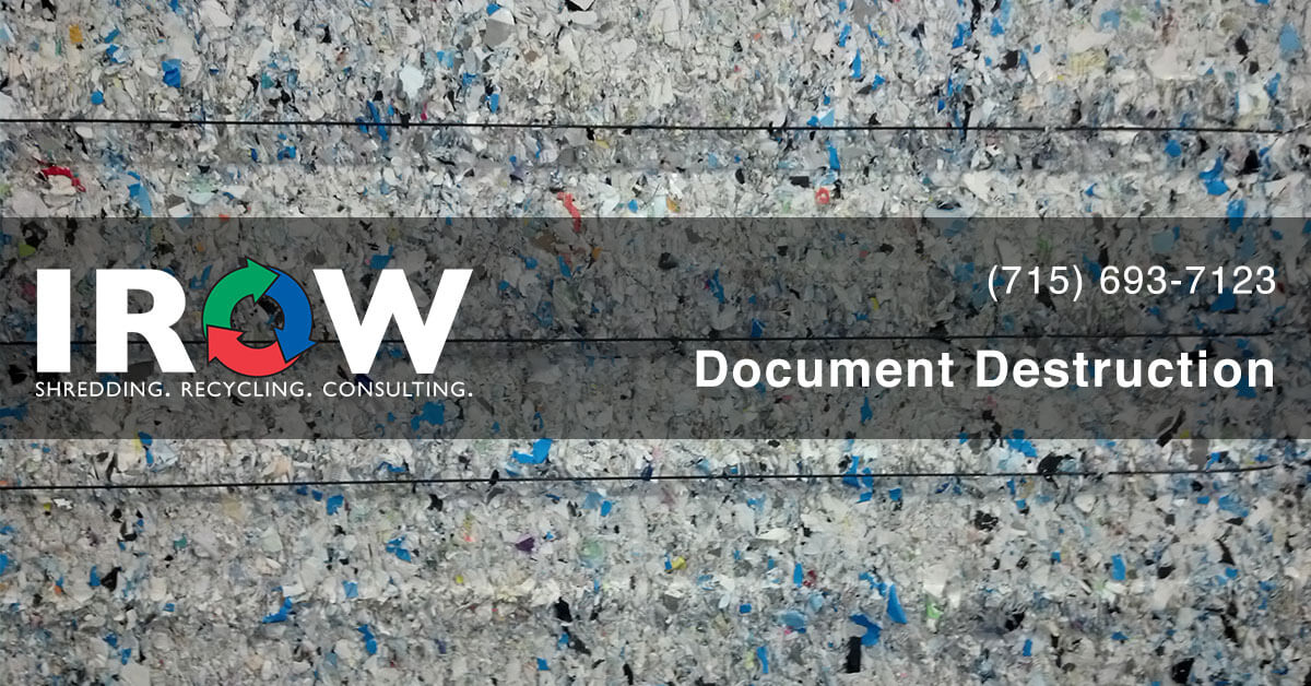 document destruction in Medford, WI