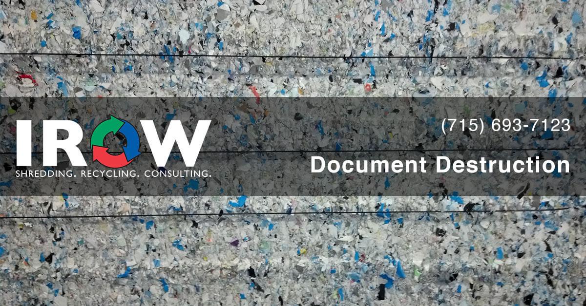 document shredding in Mosinee, WI