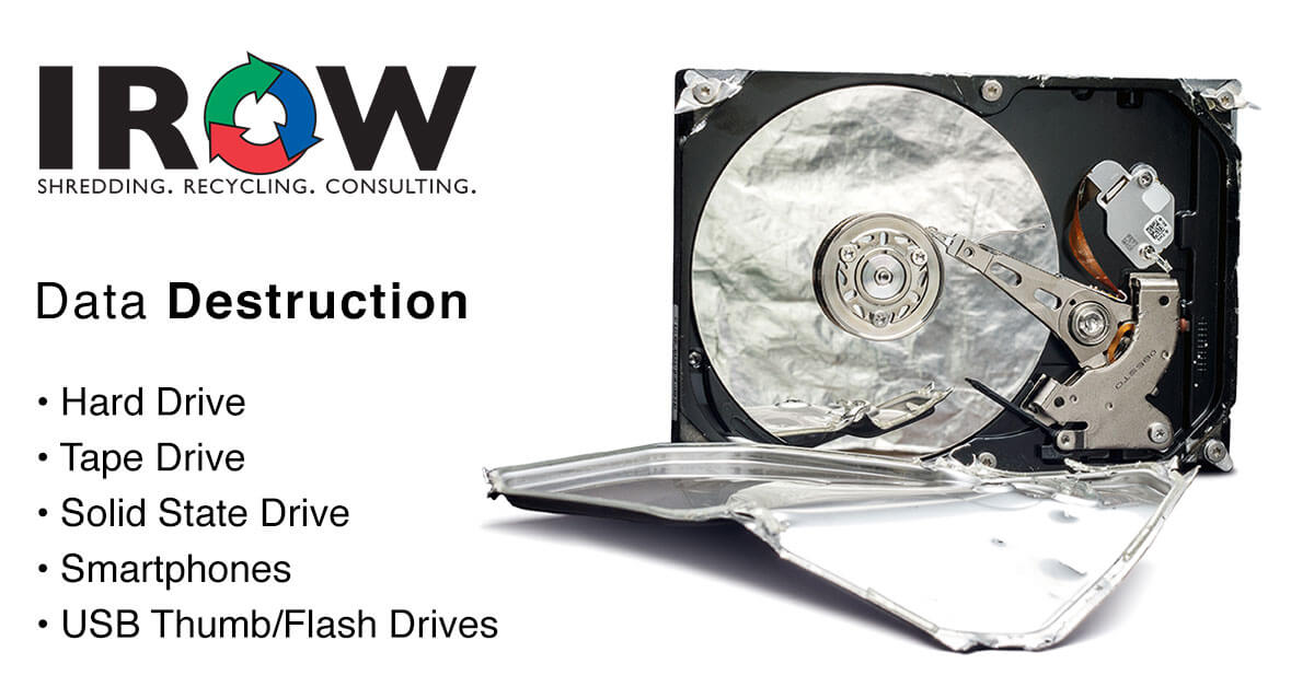 hard drive destruction and disposal in Plover, WI