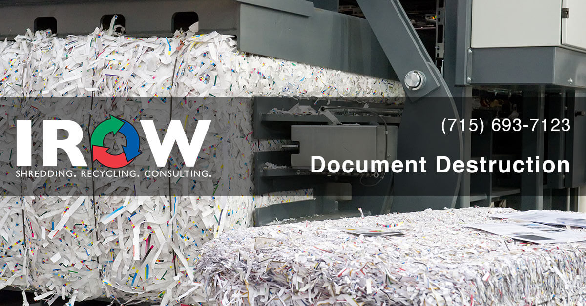 document destruction in Wisconsin Rapids, WI