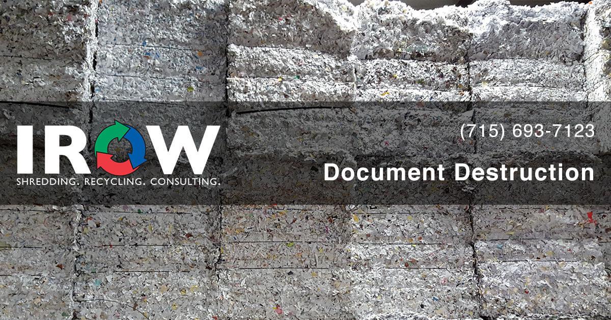 document shredding in Plover, WI