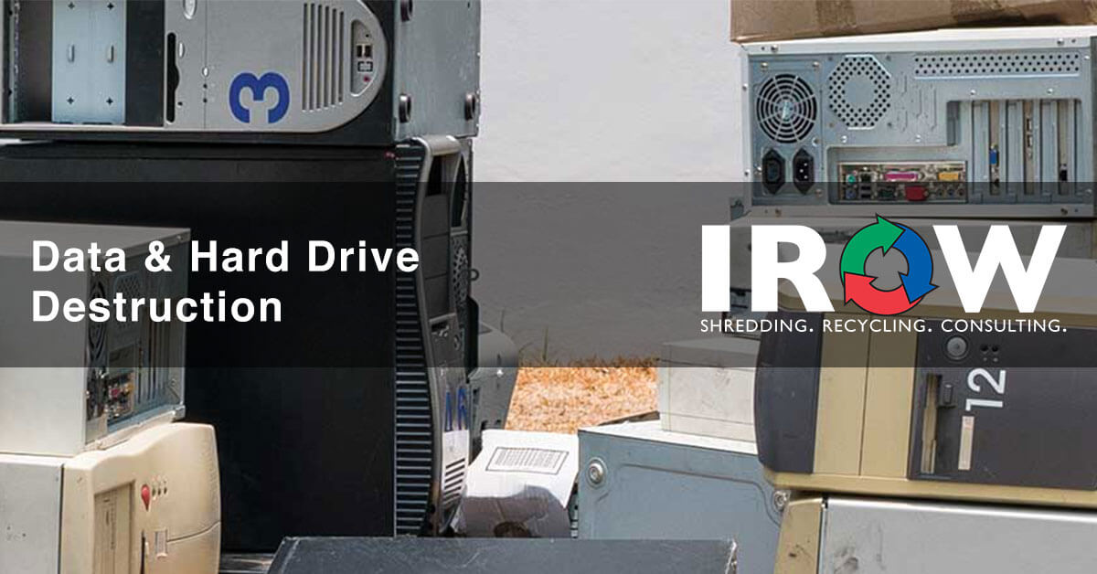 hard drive destruction and disposal in Wausau, WI