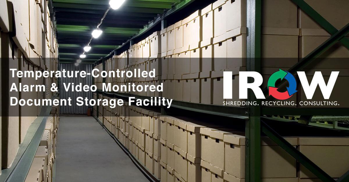 document storage in Marshfield, WI