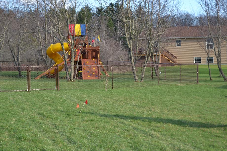 Chain link fencing in Marshfield, WI