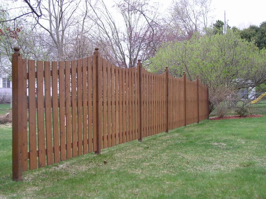 Stylish Custom fencing in Abbotsford, WI