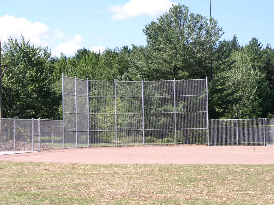 Commercial chain link fencing in Marshfield, WI