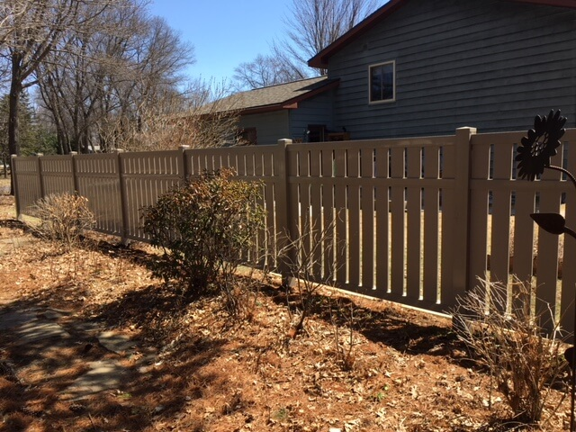 Is it privacy you are looking for? Affordable dumpster enclosure in Antigo, WI