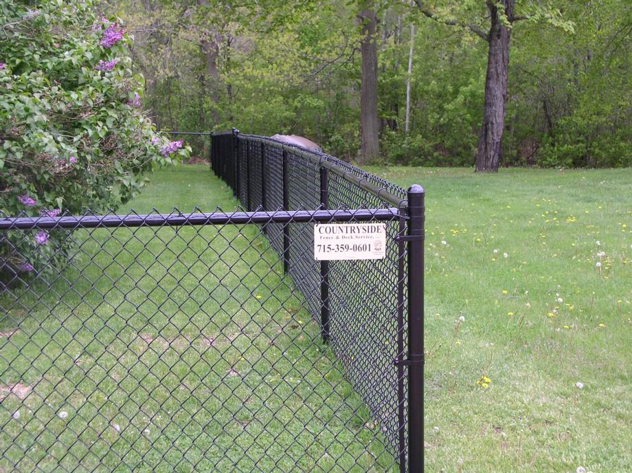 Chain link fencing in Abbotsford, WI