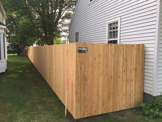 Is it privacy you are looking for? Affordable Wood fencing in Merrill, WI