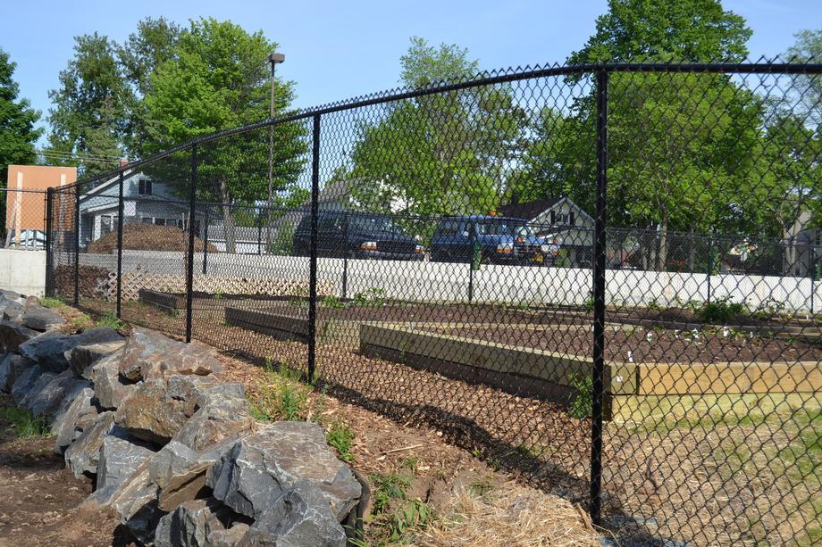 Galvanized chain link fencing in Weston, WI