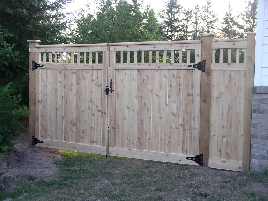 Decorative Custom fencing in Wausau, WI