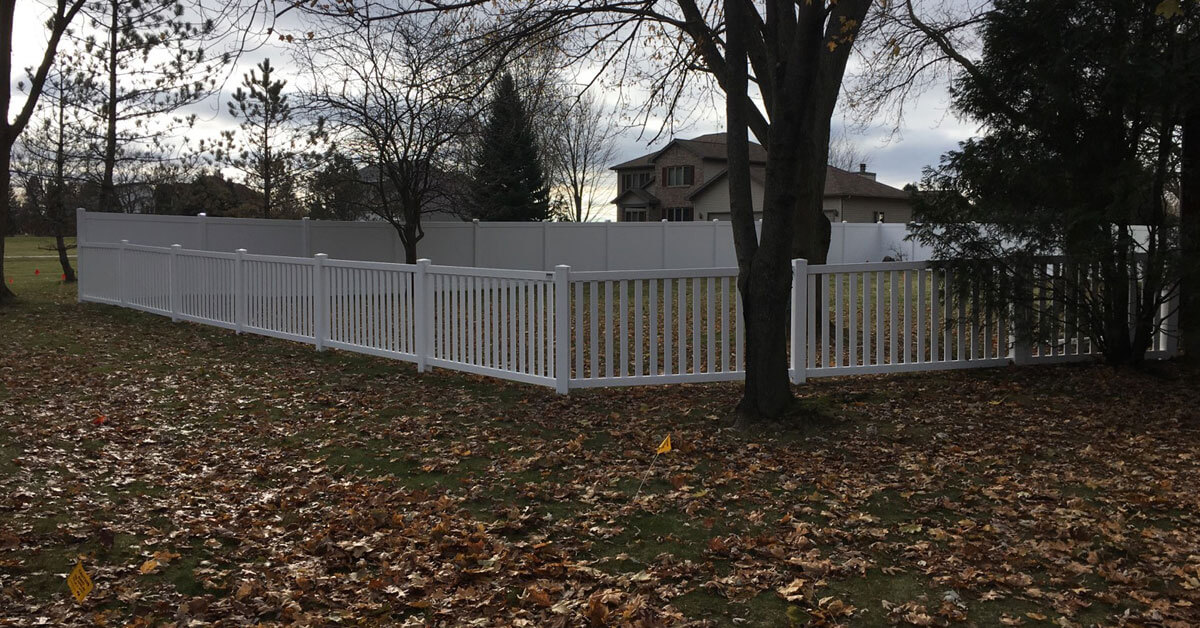 Is it privacy you are looking for? Affordable dumpster enclosure in Weston, WI