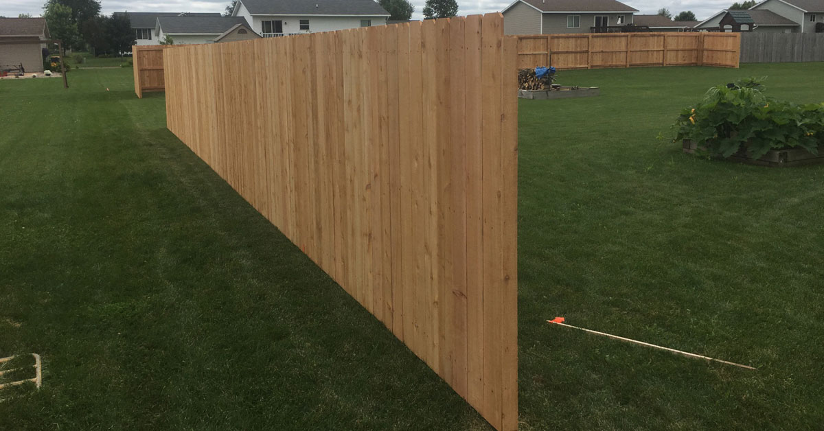Is it privacy you are looking for? Affordable Wood fencing in Antigo, WI