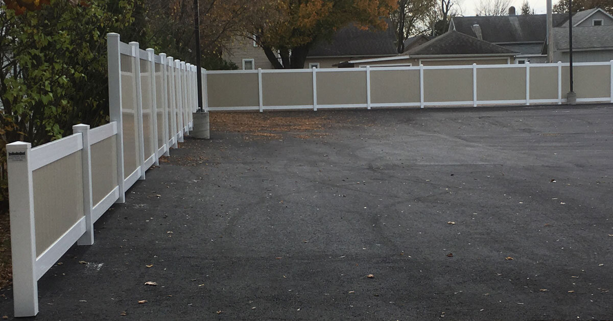 Is it privacy you are looking for? Affordable vinyl fencing in Minocqua, WI