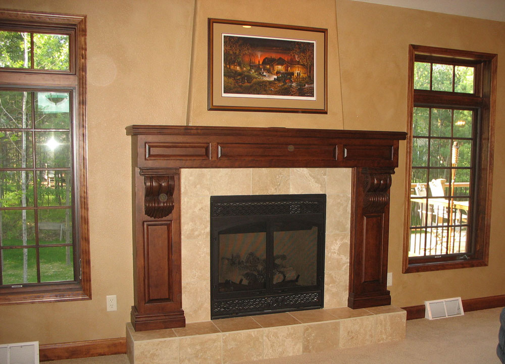 Fireplace mantels in Oneida County