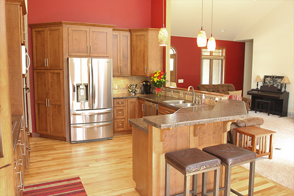 Look! Custom Kitchen cabinets in Wausau, WI