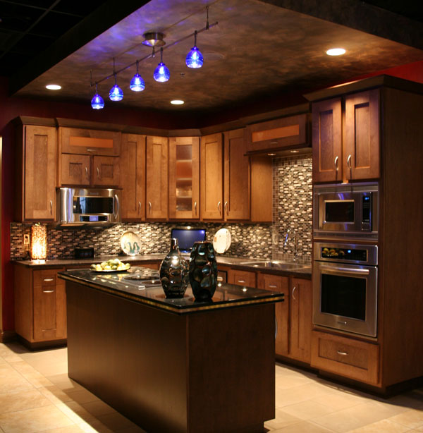 Look! Custom Kitchen cabinets in Plover, WI