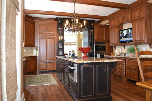 Look! Custom Kitchen cabinetry in Oneida County