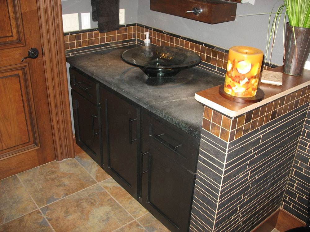 Look! Custom Bathroom cabinets in Portage County