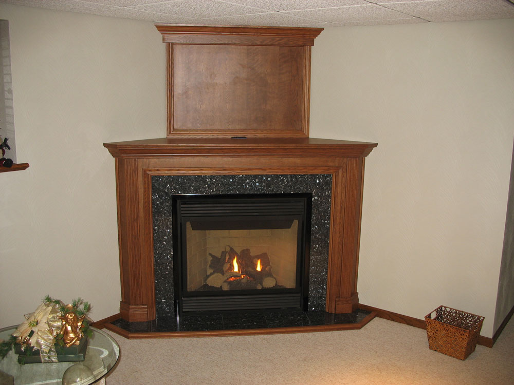Fireplace mantels in Marshfield, WI