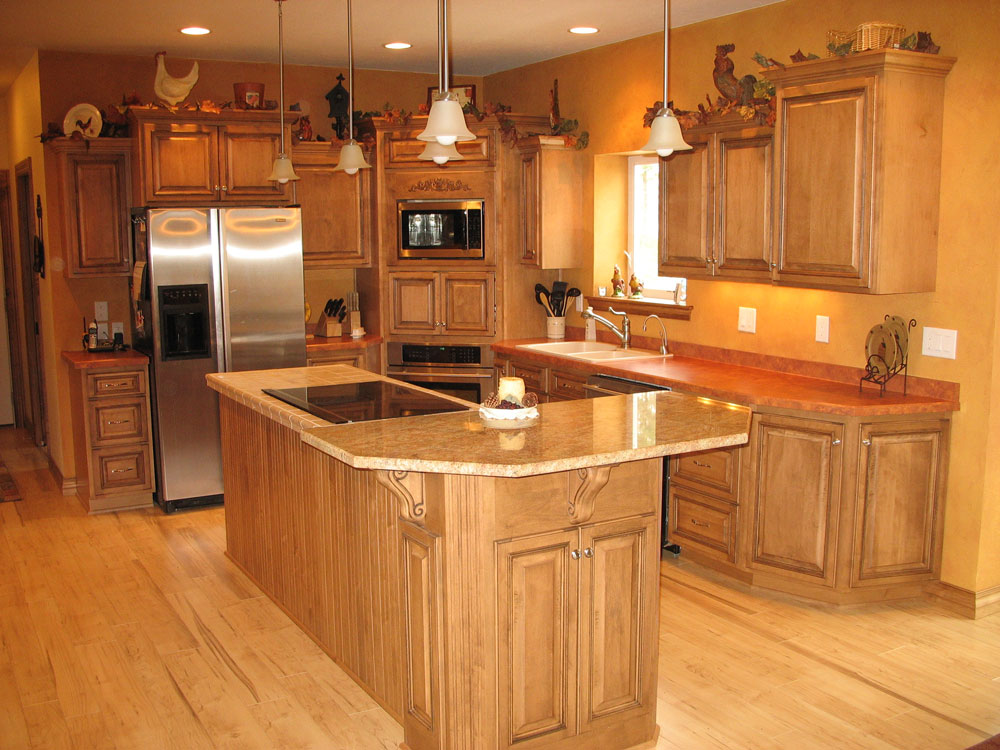 Look! Stylish Kitchen cabinets in Plover, WI