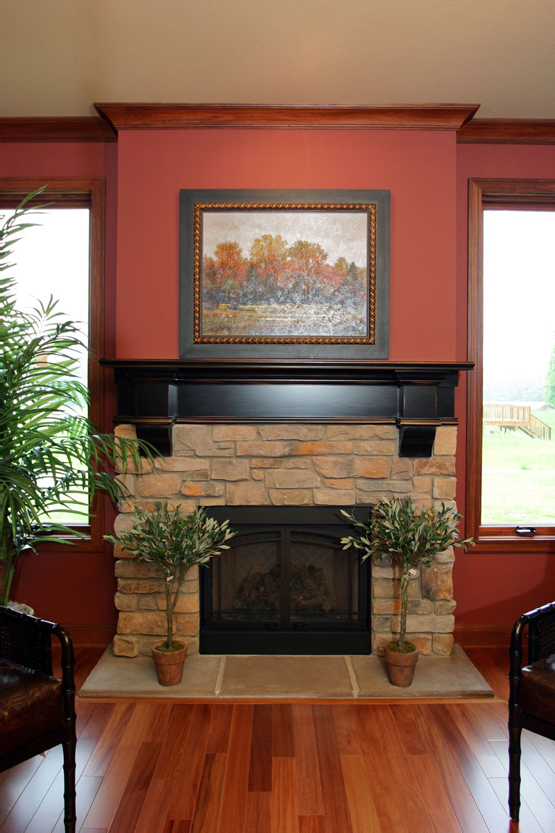 Fireplace mantels in Portage County