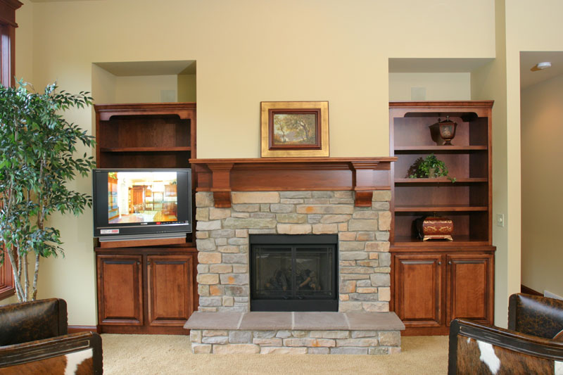 Fireplace mantels in Langlade County