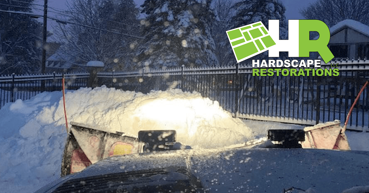 Parking Lot and Sidewalk Salting in River Falls