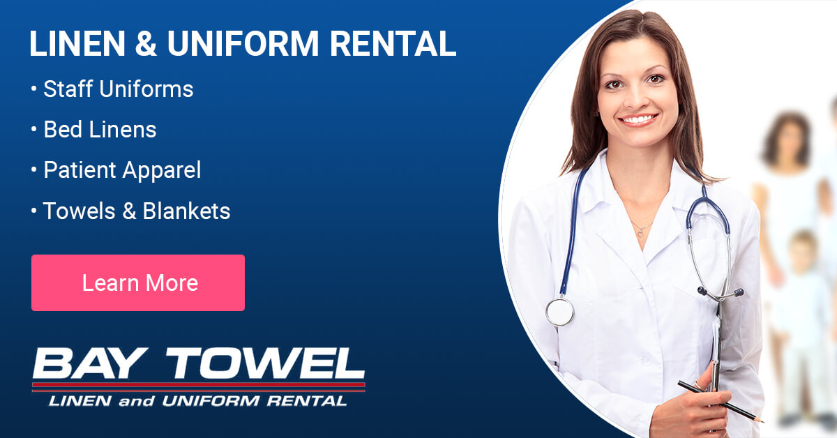 Healthcare Linen Services in the Outagamie County area