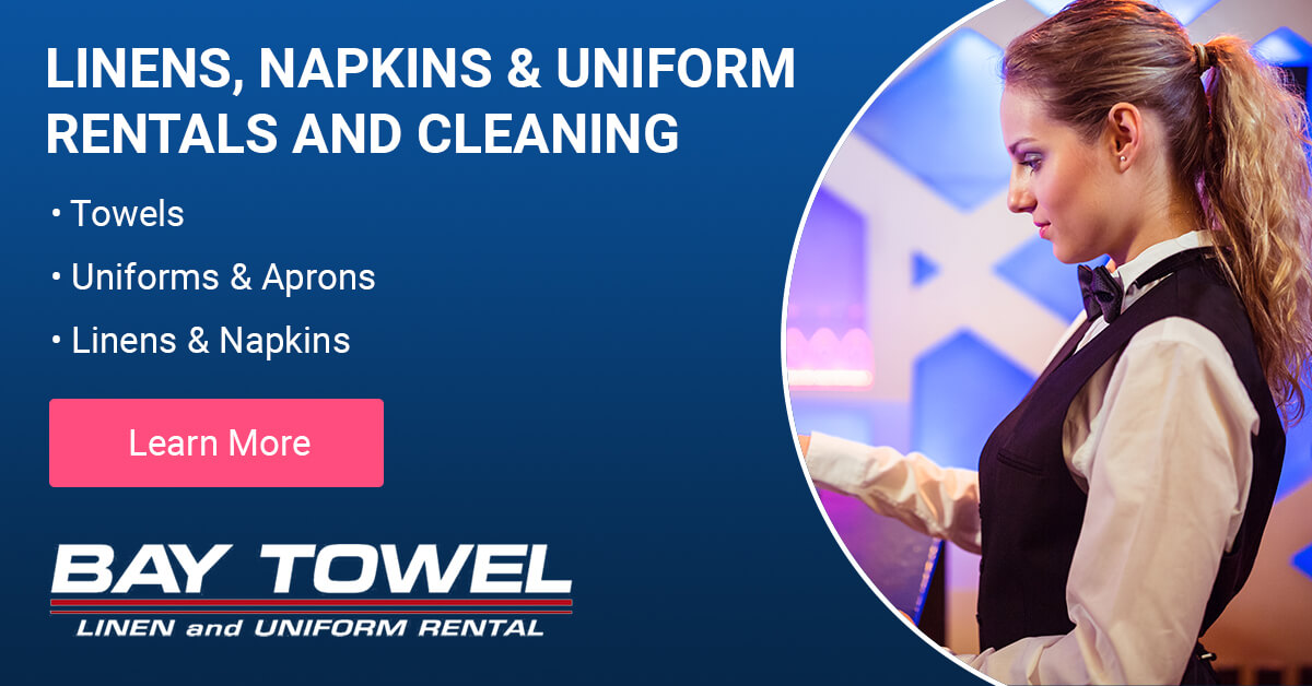 Linen, Napkin & Uniform Rental and Cleaning Services in Outagamie County