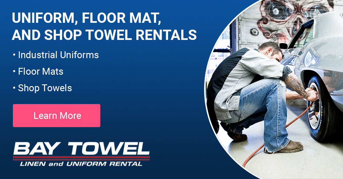 Automotive Uniform & Shop Cloth Cleaning Services in the Milwaukee area