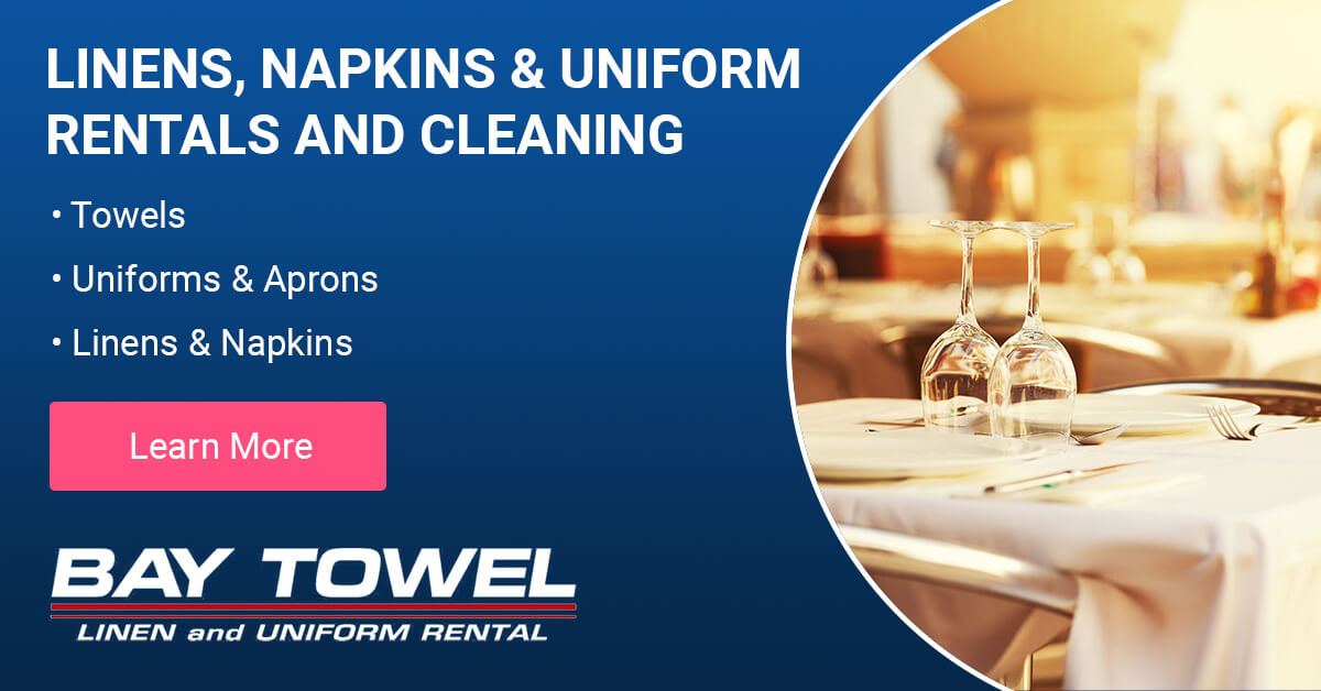 Restaurant & Bar Linen Services in the Wausau area