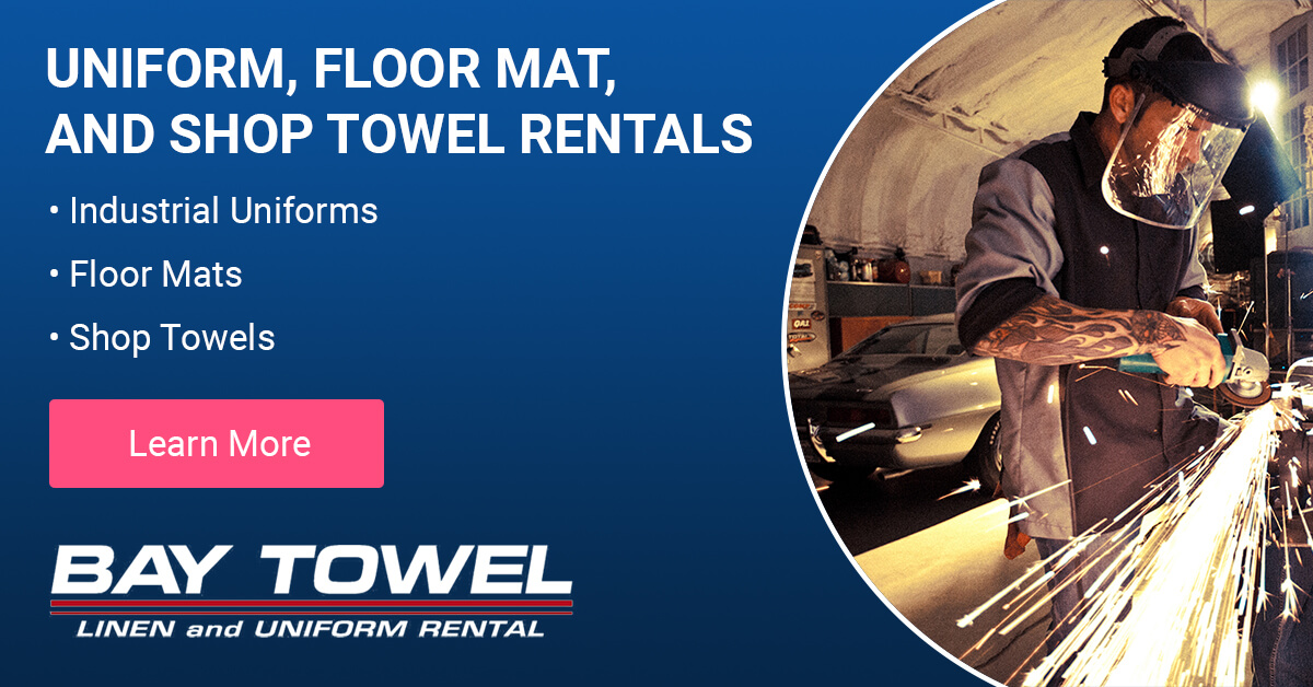 Automotive Uniform & Shop Cloth Cleaning Services in the Fox Valley area
