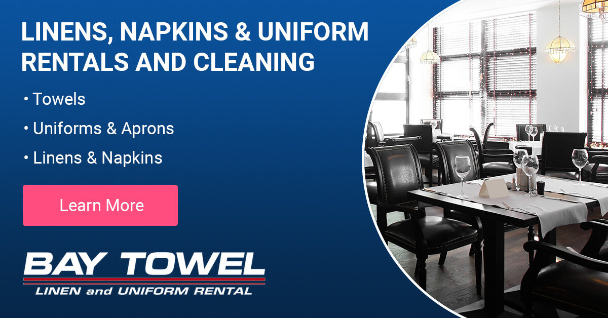 Commercial Linen & Uniform Services in the Outagamie County area