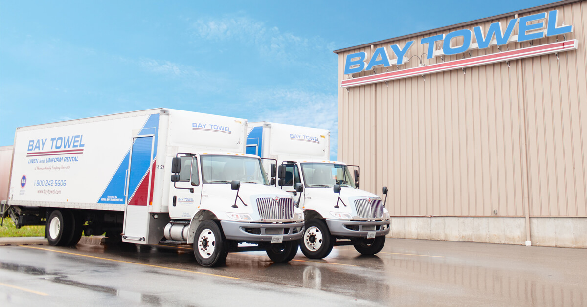 Bay Towel Commercial Laundry Services   in Brown County, WI