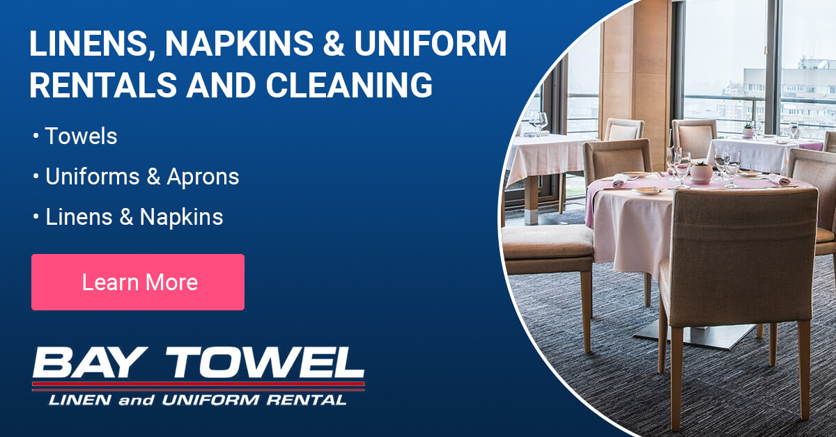Linen, Napkin & Uniform Rental and Cleaning Services in Little Chute, WI