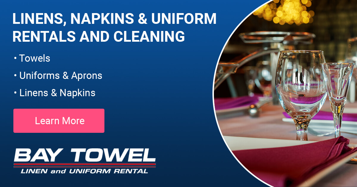 Linen, Napkin & Uniform Rental and Cleaning Services in Menasha, WI