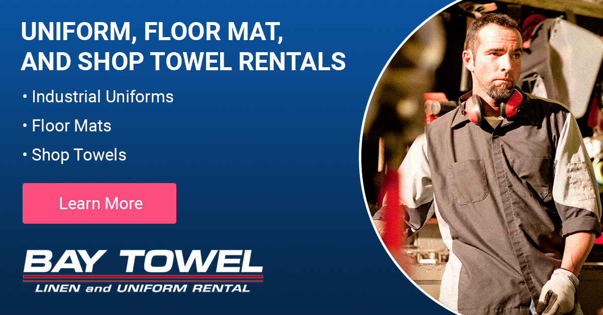 Automotive Uniform Rental and Commercial Laundry Services in Marshfield, WI