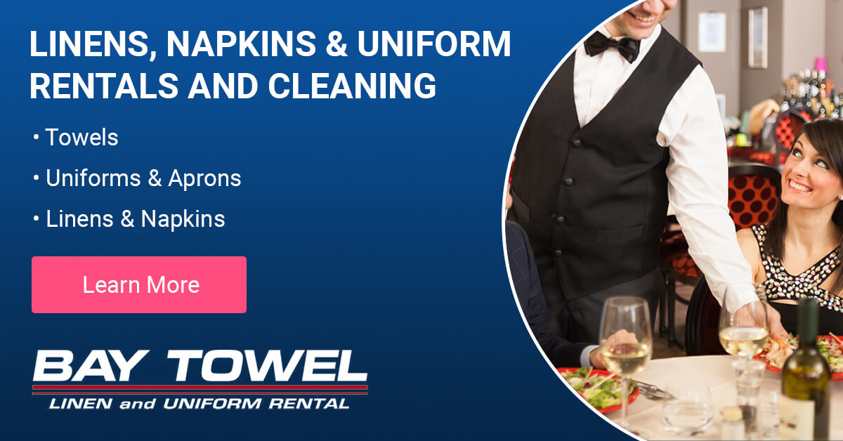 Linen, Napkin & Uniform Rental and Cleaning Services in Brown County