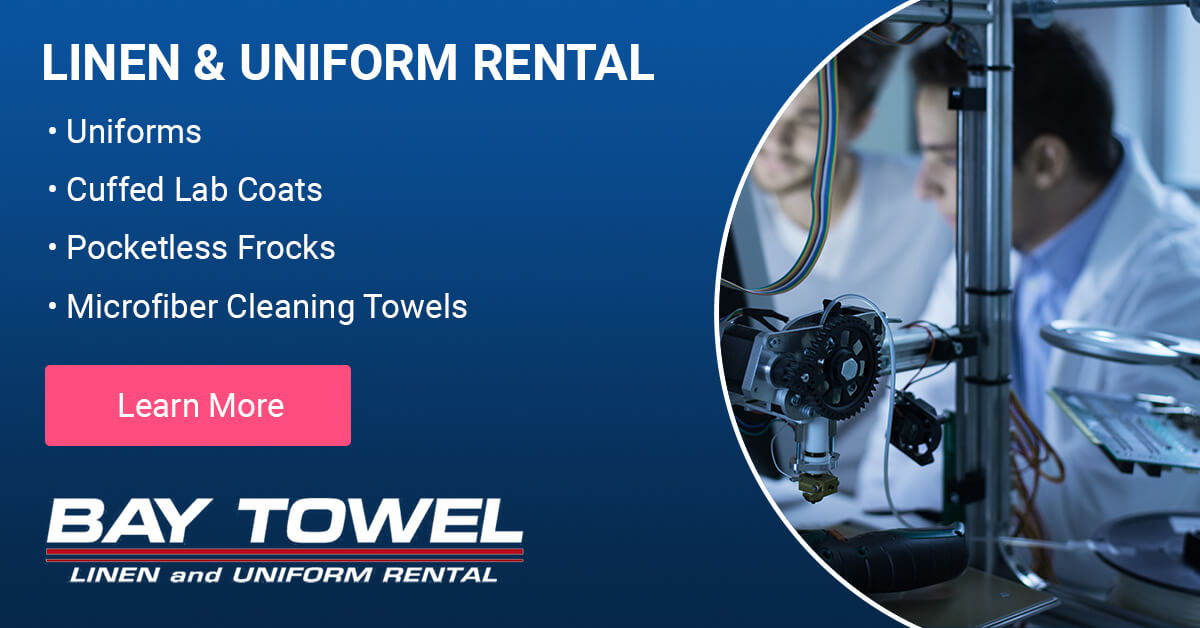 Pharmaceutical Garment Cleaning Services in the Milwaukee, WI area