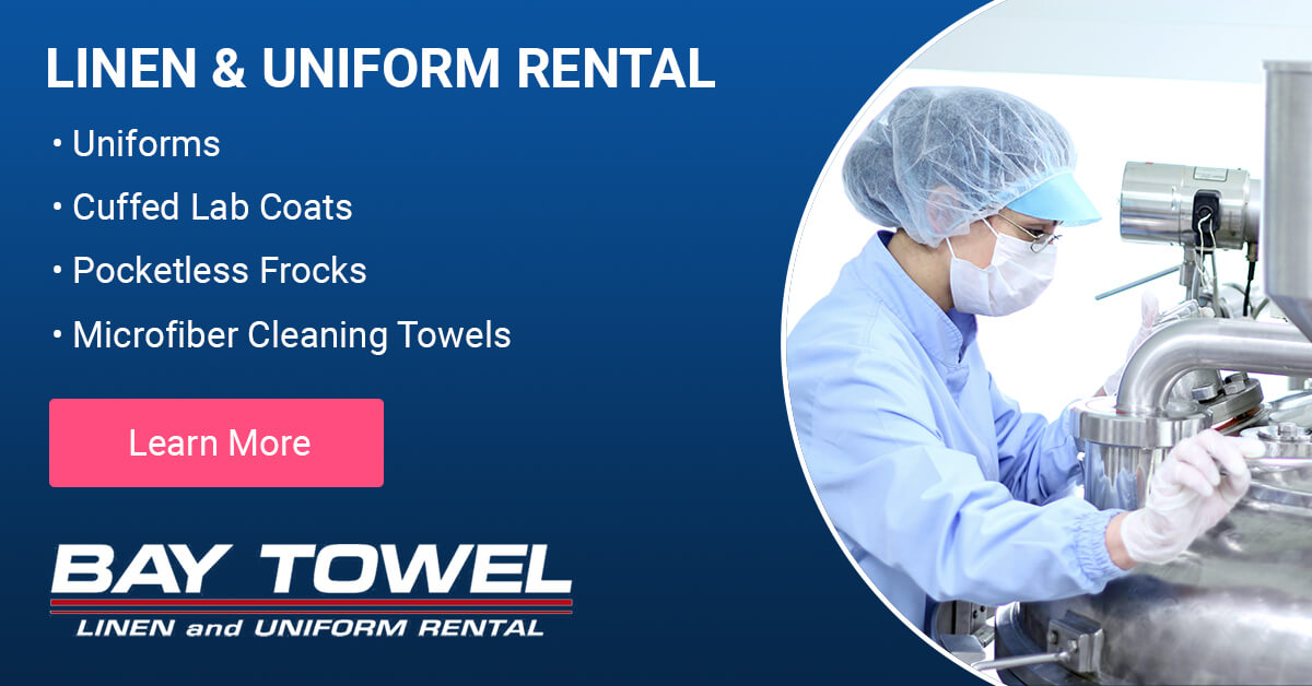 Food Manufacturing Garment Cleaning Services in Milwaukee, WI