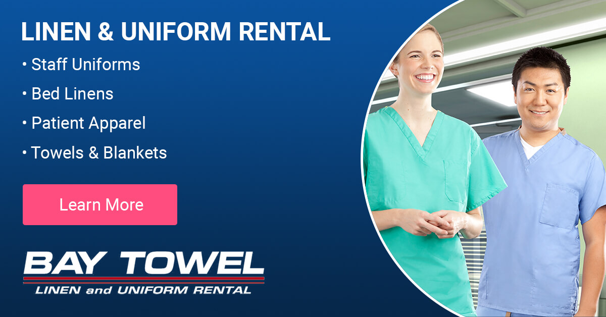 Healthcare Linen Services in the Fox Valley area