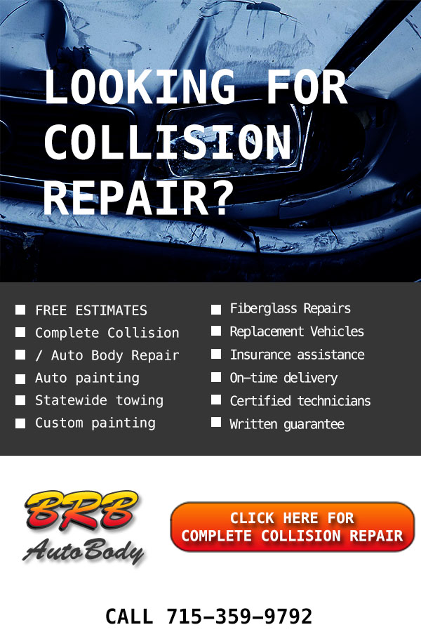 Top Service! Reliable Collision repair in Rothschild