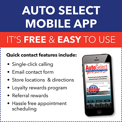 For EASY access to appointment Scheduling, Rewards Points, Monthly Specials & Single Click calling