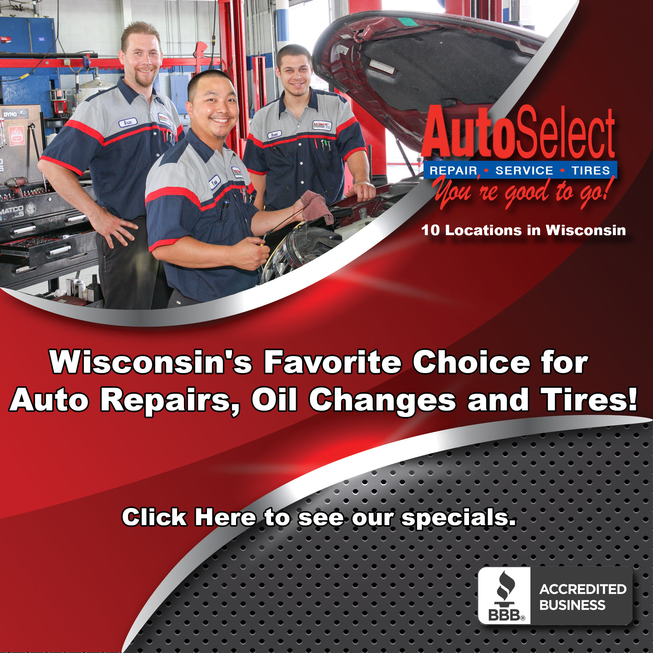 Highest Rated Auto Repair Shop in Stevens Point WI