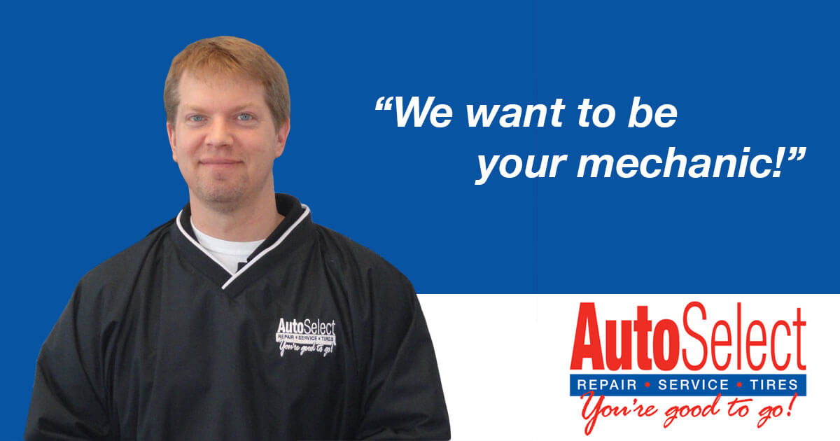 Auto Select wants to be Your Mechanic!