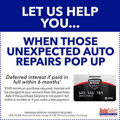 Affordable Auto Repair Financing in Neenah, WI